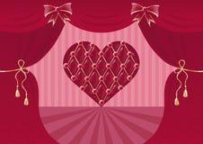 Scenic heart Stock Image