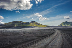 Scenic highland area of Landmannalaugar, Iceland Royalty Free Stock Image