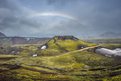 Scenic highland area of Landmannalaugar, Iceland Stock Photo