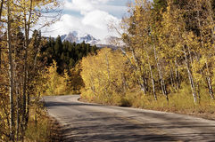 Scenic Highway royalty free stock photos