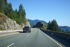 Scenic highway Royalty Free Stock Image