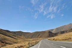 Scenic highway, New Zealand Stock Image