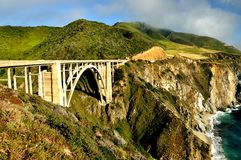 Scenic Highway 1US Royalty Free Stock Photography
