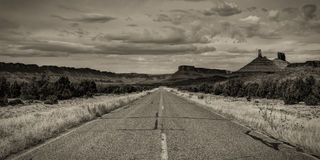 Scenic Highway, Utah Royalty Free Stock Photo