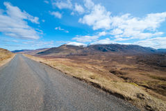 A scenic highway Stock Photo