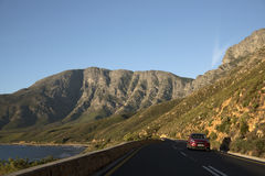 Scenic highway Western Cape Southern Africa Stock Image