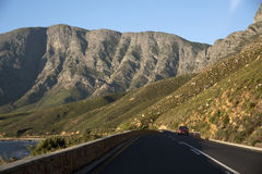 Scenic highway Western Cape Southern Africa Stock Photo