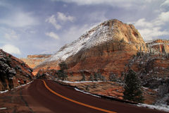 Scenic Highway Royalty Free Stock Images