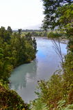 Scenic Hokitika Gorge with its signature turquoise river in New Zealand Stock Photos