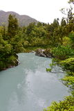 Scenic Hokitika Gorge with its signature turquoise river in New Zealand Royalty Free Stock Photos