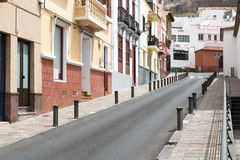 Scenic housing facades on Gomera island, Spain Stock Photography