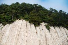 Scenic Huashan Mountain Xian, China Stock Photo