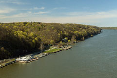 Scenic Hudson River Stock Photography