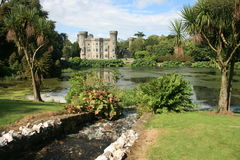 Scenic Irish castle. Johnstown castle, in county Wexford Ireland Royalty Free Stock Photography