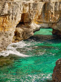 Scenic Island Coast View, Paxos Island Royalty Free Stock Images