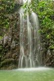 Scenic Island Waterfall Royalty Free Stock Image
