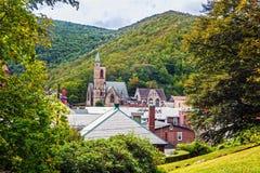 Scenic Jim Thorpe Pennsylvania Stock Photography
