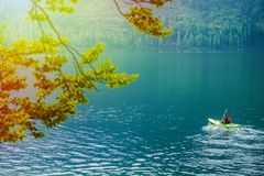 Scenic Kayak Tour Royalty Free Stock Images