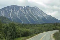 Scenic Klondike Highway Stock Image