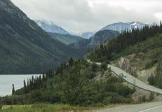 Scenic Klondike Highway Stock Images