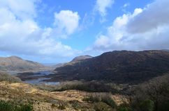 Scenic Ladies View on the Ring of Kerry in Ireland Royalty Free Stock Photos