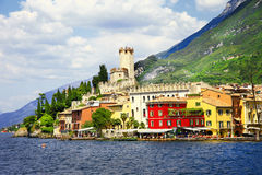 Scenic lago di Garda Stock Photography