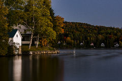 Scenic Lake - Autumn / Fall Colors - Vermont Royalty Free Stock Photos