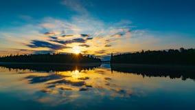 Scenic Lake At Dawn  Stock Photography