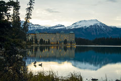 Scenic Lake Louise Royalty Free Stock Image