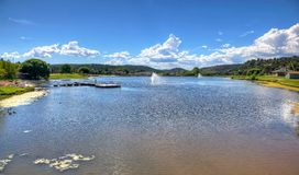 Scenic lake and recreation in Payson, Arizona Royalty Free Stock Photos