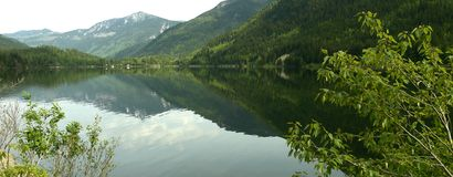 Scenic Lake Reflection Stock Image