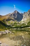 Scenic lake royalty free stock images