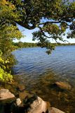 Scenic Lake Shore Royalty Free Stock Images