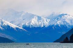 Scenic of lake wanaka south island new zealand Stock Photo
