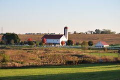 Scenic Lancaster County Farm Royalty Free Stock Image