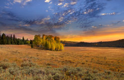Scenic landscape Stock Photography