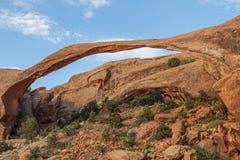 Scenic Landscape Arch Utah Stock Photos