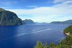 View of Storfjord, Norway - Scandinavia Stock Photography