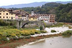 Scenic landscape in Belluno Royalty Free Stock Photography