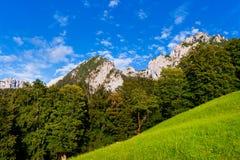 Scenic landscape in Berchtesgadener Land, Bavaria. Scenic view of nature landscape in Berchtesgadener Land, Bavaria, Germany stock images