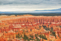 Scenic landscape in Bryce Canyon, Utah, USA Stock Images