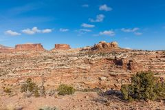 Canyonlands National Park Landscape Utah. The scenic landscape of canyon lands national park Moab Utah Royalty Free Stock Image