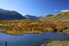Scenic landscape in colorado Royalty Free Stock Photo