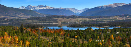 Scenic landscape in Colorado. Scenic landscape near Silverthorne ,Colorado stock image