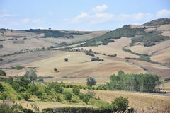 Scenic landscape country countryside scenery, turkey Royalty Free Stock Images