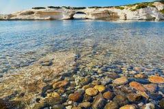 Scenic landscape of Eastern coast of Sardinia. Italy Stock Images