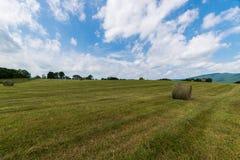 Scenic Landscape of Elkton, Virginia around Shenandoah National Stock Photo
