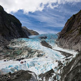 Scenic landscape at Franz Josef Glacier royalty free stock photos