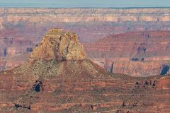 Grand Canyon North Rim Scenic Landscape Royalty Free Stock Photography