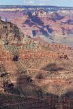 Scenic South Rim Grand Canyon National Park. The scenic landscape of the grand canyon from the south rim Royalty Free Stock Photos